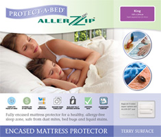 Allerzip Mattress Protector - Terry