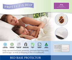 Fully Encased Waterproof Anti Bed Bug Mattress Protector Double